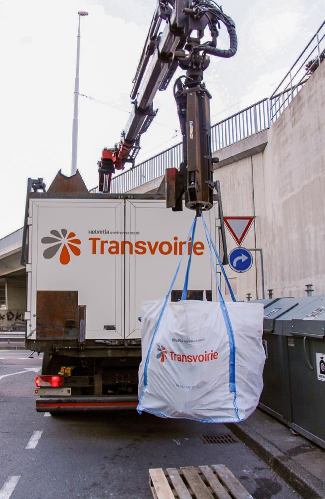 Évacuez vos déchets en big bag sur le canton de Genève