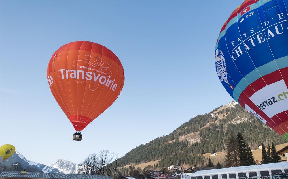 Transvoirie dans les airs, pour cette 42ème édition du Festival International de Ballons
