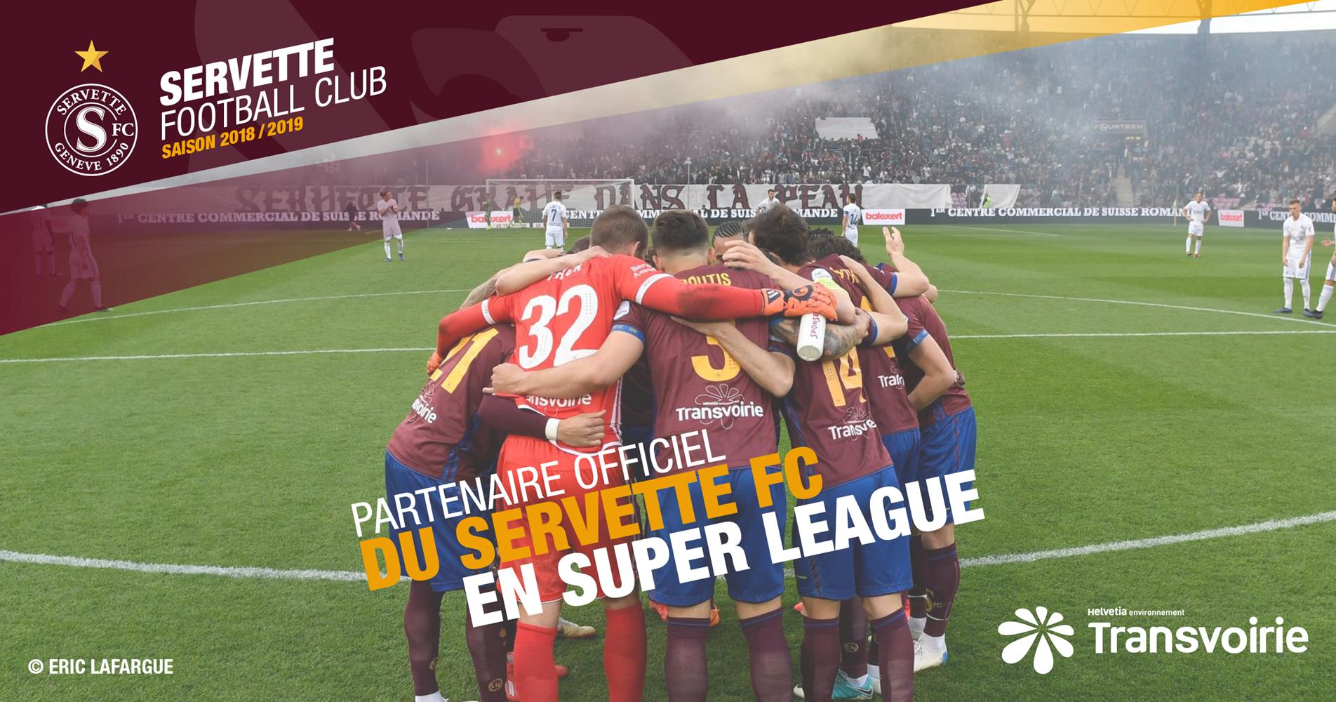 Transvoirie prolonge son partenariat auprès du Servette Football Club